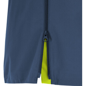 GORE WEAR R7 Partial Gore-Tex Infinium Veste à capuche Homme, deep water blue/citrus green